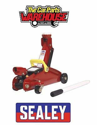 SEALEY 1015CX Trolley Jack 1.5 Tonne Short Chassis Great Boot Jack For DIY • 24.95£