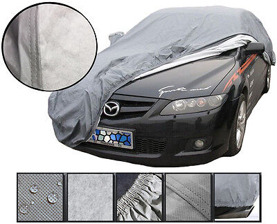 Heavy 2.2KG Waterproof XL Extra Large Car Cover Breathable Protection Outdoor • 33.95£
