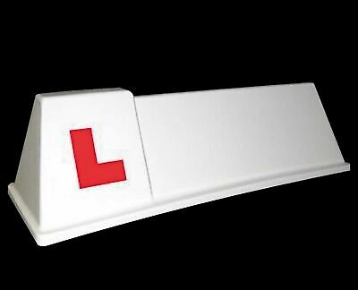 Driving School Roof Sign Magnetic Learner Vehicle SOM2  L Plate Roof Box  • 49£