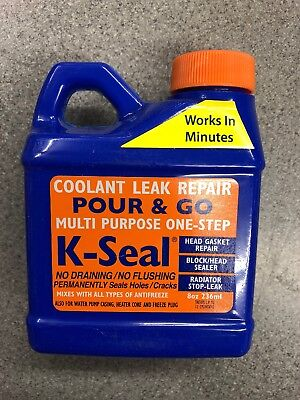 K-Seal Permanent Coolant Leak Repair For Cooling Systems Head Gaskets Radiators • 9£