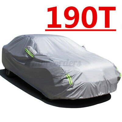 Universal Full Car Cover Medium Size L UV Protection Breathable Waterproof UK • 18.34£