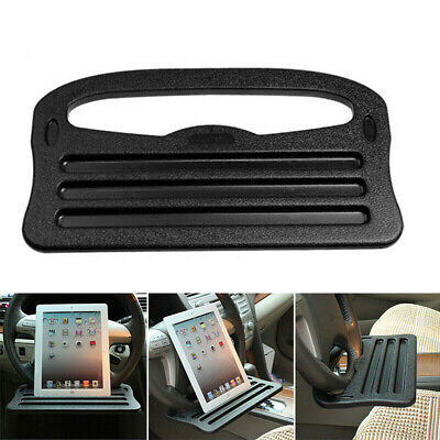 Car Steering Wheel Tray Cup Holder Laptop Chair Dining Table For IPad Ku • 5.99£