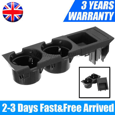UK Center Console Drink Cup Holder Coin Storage For BMW E46 325 328 330 1999-06  • 15.88£