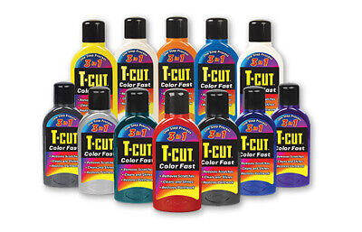 T-Cut Scratch Remover 3in1 Color Fast Paintwork Colour Restorer Car Polish 500ml • 7.99£