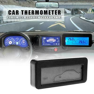 Car Thermometer Digital LCD Thermometer Auto Temperature Meter Gauge T8U9 • 6.35£