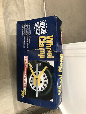 Wheel Clamp For Wheels At 13/15 Inch Brand New • 5£