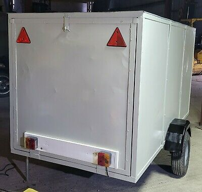 Box Trailer (8ft X4ft X4ft) – Very Good Condition • 650£