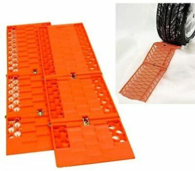 2 X Car Van Truck Tyre Grip Snow Mud Sand Rescue Escaper Traction Tracks Mats • 8.99£