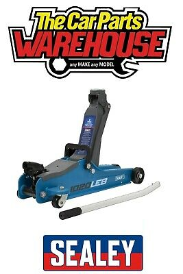 Sealey 1020LEB 2 Tonne Low Entry Short Chassis Blue Trolley Jack • 51.79£