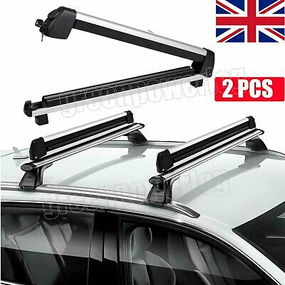 30  Ski Roof Rack Snowboard Universal Carriers Car Roof For 4 Snowboards Rack UK • 63.32£