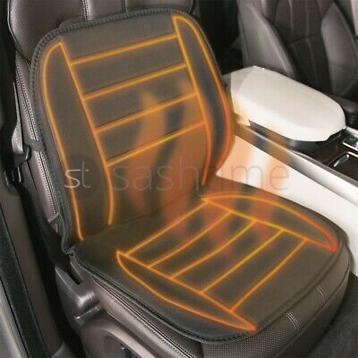 2pcs 12V Front Double Car Seat Heated Cushion Pad Cover Heating Heater Warmer • 16.99£