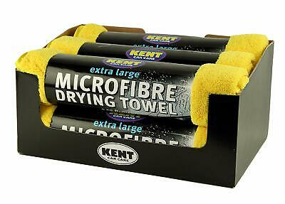 Kent Microfibre Towel Cloth Extra Large Drying Car Care Valeting 5 Sq Ft 6 Pack • 19.89£