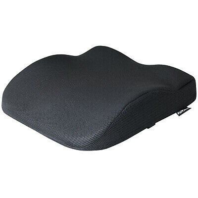 Black Memory Foam Lower Seat Base Posture Support Seat Cushion Car/home/office • 14.99£