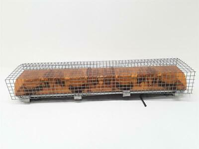 Rotating Beacons Four Lamp Amber Woth Rock Guard  & Warranty - Ncs3004574 • 100£