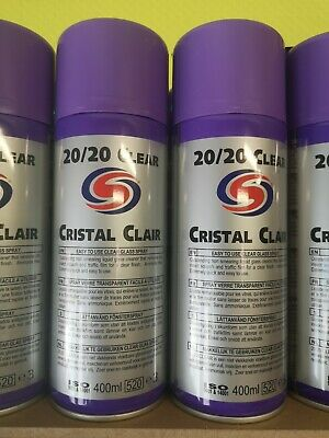 2 X Autosmart 20/20 Cristal CLEAR - Glass Window Cleaner With Microfibre Towel! • 12.95£