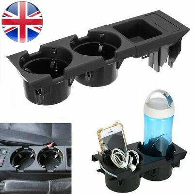 Car Cup Holder Center Console Cup Holder Coin Storage For BMW 3 Series E46 UK • 17.89£