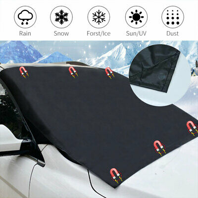 Car Magnetic Windscreen Cover Large Snow Protector Dust Ice Frost Sun Shade Van • 9.09£