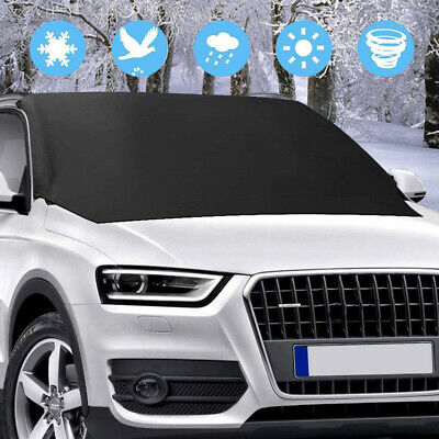 Windscreen Cover Magnetic Car Window Screen Snow Frost Ice Dust Sun Protector UK • 7.99£