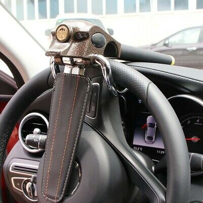 Universal Car Steering Wheel Anti Theft Security Airbag Lock Mount Safe Device • 16.99£