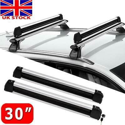 Ski Roof Rack For Bars Car The Transport Of 6 Pairs Skiing Or 4 Snowboarding • 59.27£
