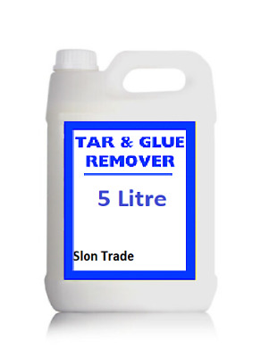Tar And Glue Remover 5 Litre Valeting & Detailing Protect Paintwork Vehicle 5l • 18.99£