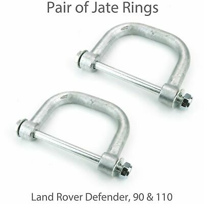 2 Jate Recovery Rings Anchor Point For Land Rover Defender 90 & 110 • 29.99£
