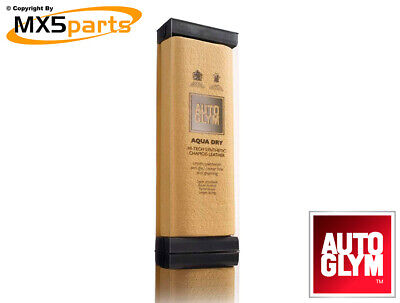 Autoglym Aqua Dry Hi-Tech Synthetic Chamois Leather Car Valeting Drying Towel • 9.50£