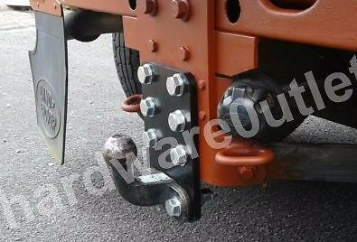DEFENDER Tow Ball LEVELING PLATE Heavy Duty 50 Mm Centres 220 X 145 X 12.0 Mm  • 21.95£