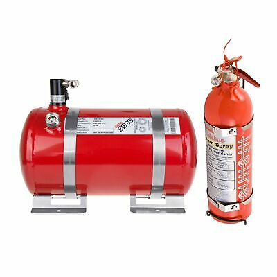 Lifeline Fire Marshal Electric Extinguisher Rally Package - 4L & 2.4L Handheld • 637.20£