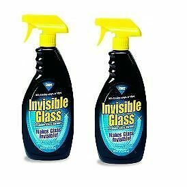 Invisible Glass Cleaner For Windscreens Windows & Mirror 650mL X2 • 16.99£
