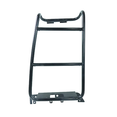 Black Expedition Rear Door Roof Rack Stirrup Ladder For Land Rover Discovery 3&4 • 149.99£