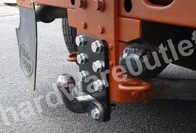 DEFENDER GALVANISED Tow Ball LEVELING PLATE H/Duty 50 Mm Ctrs 220 X 145 X 12mm  • 26.35£