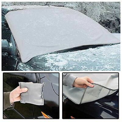 Magnetic Car Windscreen Cover Ice Frost Shield Snow Dust Protector Sun Shade New • 3.95£