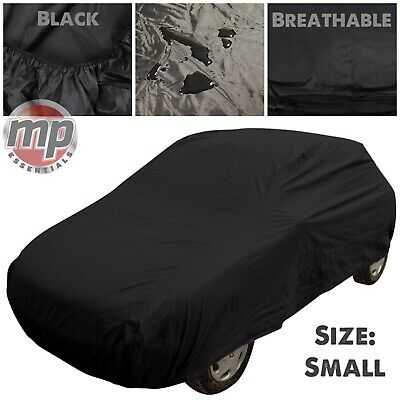 Black Indoor & Outdoor Protection Breathable Full Car Cover For VW Golf Mk1 Mk2 • 22.99£