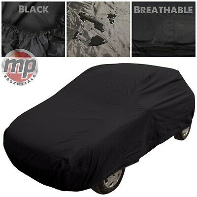 Black Indoor & Outdoor Breathable Full Car Cover To Fit Audi TT & TT Roadster • 22.99£