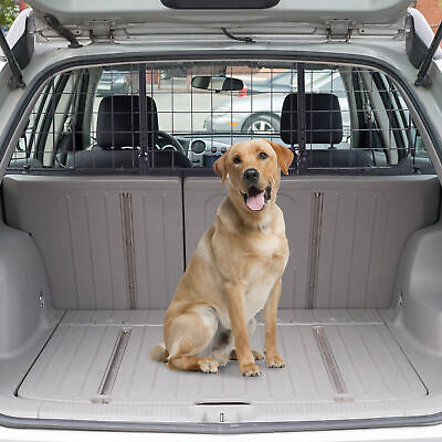 Heavy Duty Pet Dog Car Barrier Adjustable Ventilated Mesh Wire Guard Protector • 21.99£