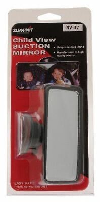 Summit RV-37 Car Rear View Child Mirror Suction Pad Easy Fit Remove Replacement • 6.99£