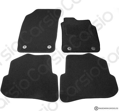 Audi A1 2010 To 2018 Fully Tailored Black Car Floor Mats Carpets 4 Clips • 11.85£