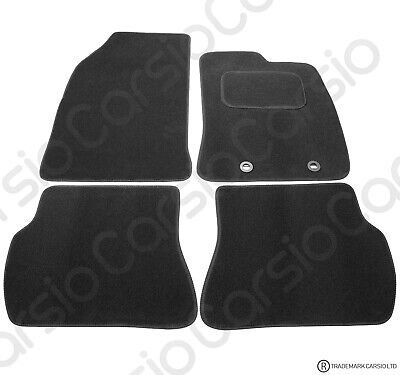 Ford Fiesta 2002 - 2008 Tailored Black Car Floor Mats Carpets 4pc Set With Clips • 11.85£