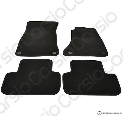 AUDI A5 2dr Coupe 2007 To 2016 Fully Tailored Black Car Floor Mats Carpets • 11.85£