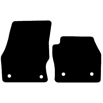 Ford Transit Connect 2016+ Onwards Tailored Black Car Floor Mats Carpets 2 Piece • 11.85£