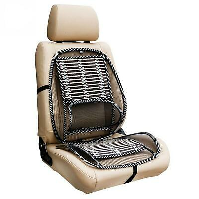 Mesh Back Support Lumbar Lower Back Cushion Pain Relief Car Seat Office Seat • 9.95£