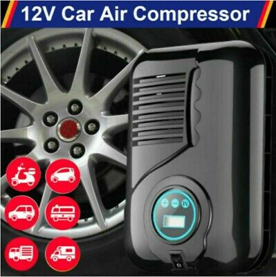 Heavy Duty High Pressure Portable Car Tyre Air Compressor Pump Inflator 250PSI • 16.69£