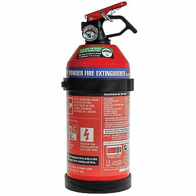 E-Tech Engineering Car/Van/Track Day Dry Powder Fire Extinguisher - 1kg • 15.78£