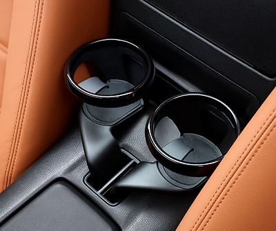Pair Of Fiat 124 Spider Cup Holders In Piano Black New & Genuine 71870617 • 199.99£