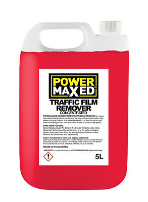 5L TFR Traffic Film Remover Cleaner 5 Litres Concentrate - Power Maxed TFR5000 • 13.49£