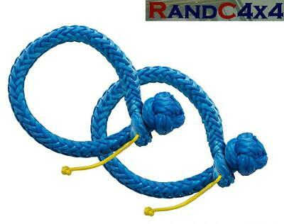 Soft Shackle 11mm 4x4 Recovery Synthetic Rope 5830Kg - DA7336 • 15.50£