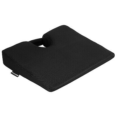 Memory Foam Wedge Seat/chair Cushion Lower Base Posture Support Car/home/office • 9.99£