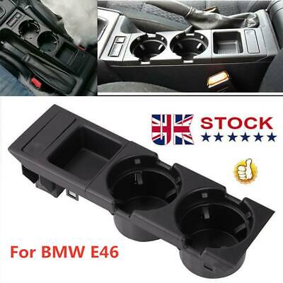 For BMW E46 325 328 330 1999-06 UK Center Console Drink Cup Holder Coin Storage • 14.29£