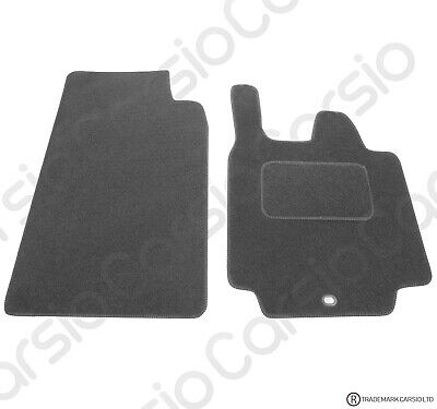 Smart For Two 2007 (57) To 2014 Tailored Black Trim Car Floor Mats 2 Piece Set • 11.26£